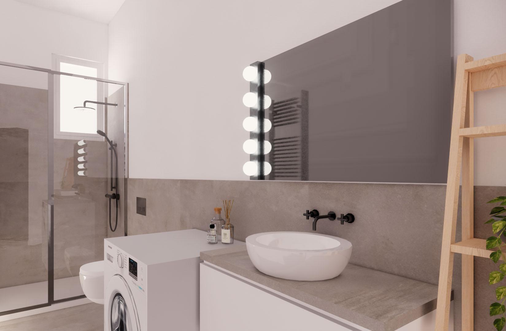 Appartamento Cenisio – bagno