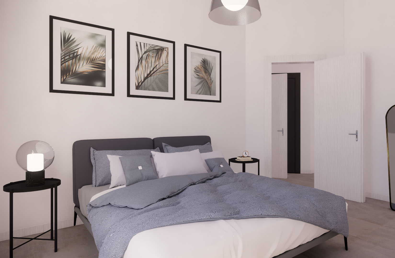Appartamento Cenisio – camera