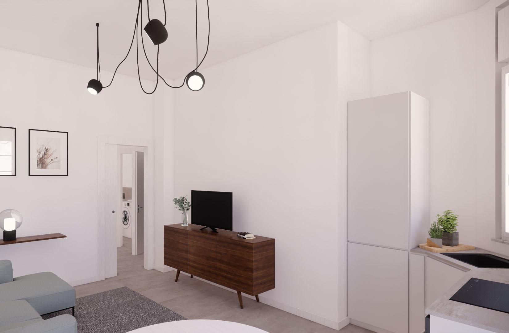 Appartamento Cenisio – soggiorno2
