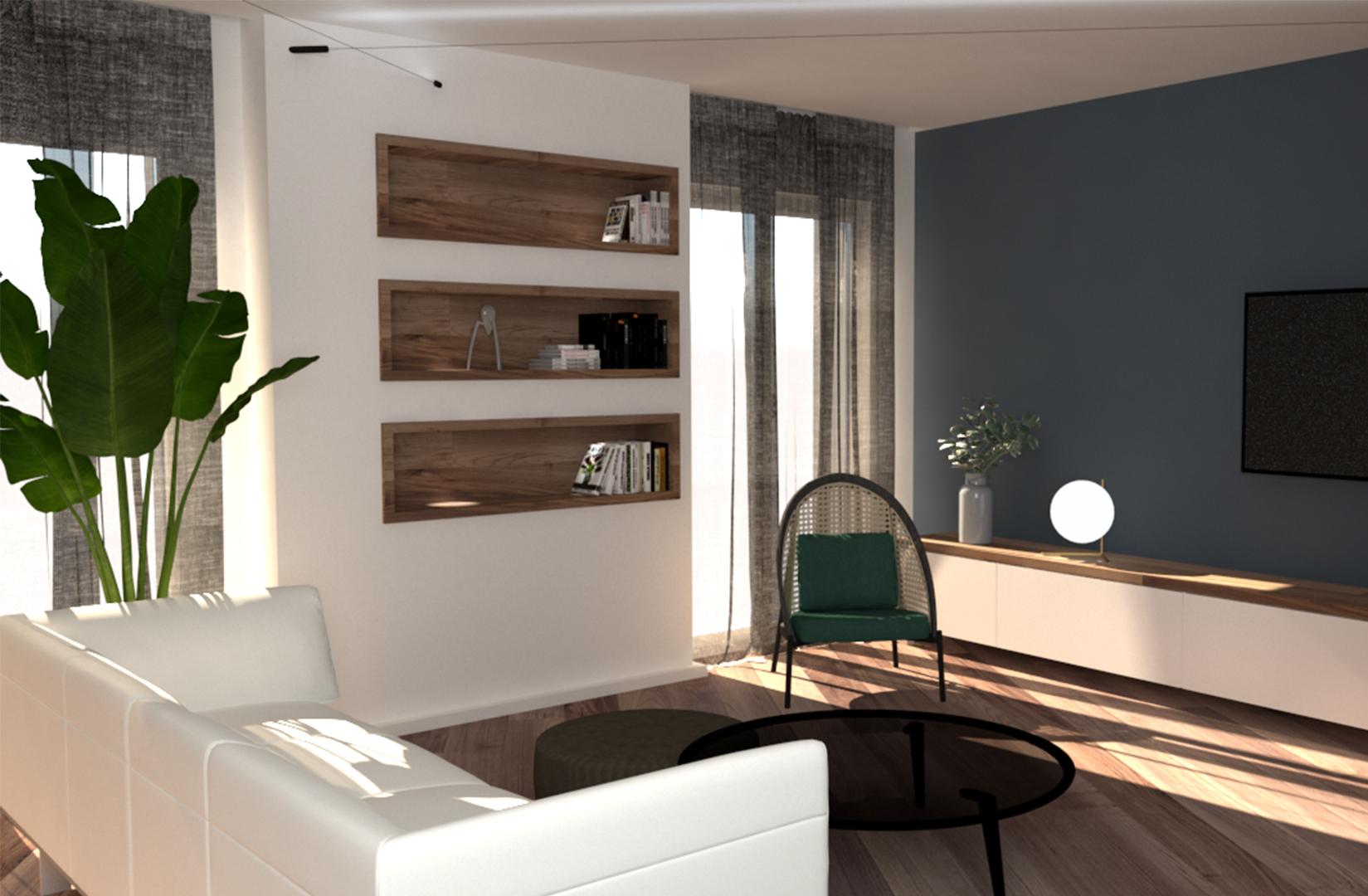 MS Architetti_Proposta di Restyling Appartamento a Monza_01
