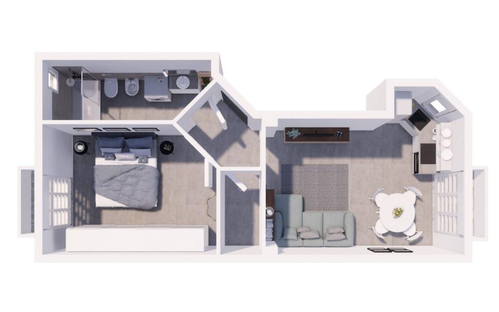 Appartamento Cenisio